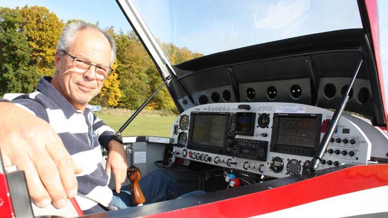 Pilot baut eigenes Flugzeug