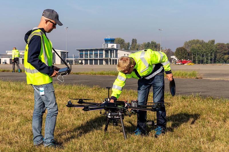 DLR testet Luftraum-Koordinierung mit Drohnen