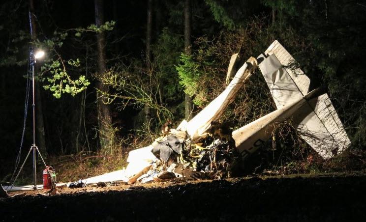 Flugzeug bei Pegnitz abgestürzt