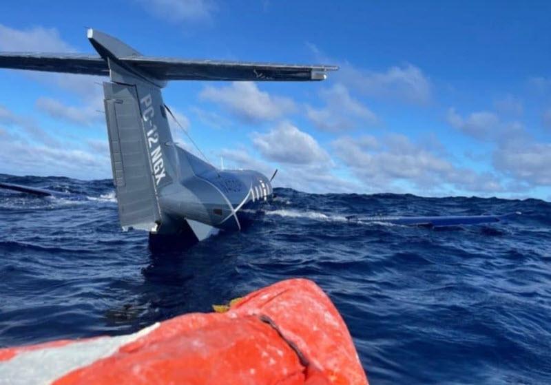 Notwasserung 1.000 Meilen vor Hawaii