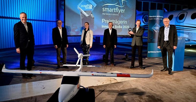 Smartflyer aircraft awarded the InnoPrix SoBa 2020
