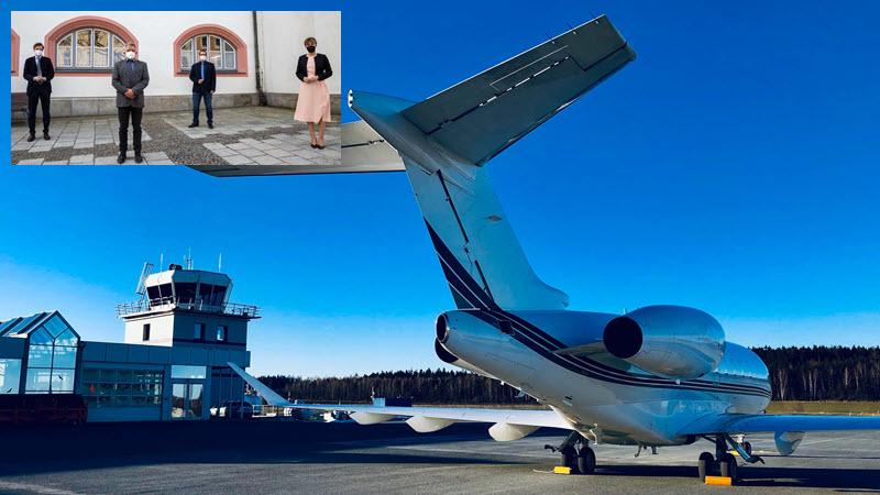 Hof-Plauen: Wechsel an der Flugplatz-Spitze