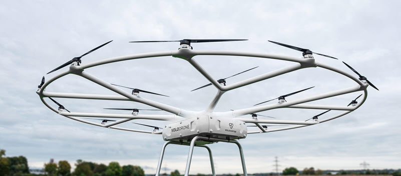 Volocopter Confirms Plans for Commercial eVTOL Cargo Trials