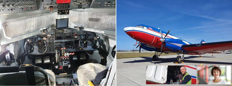 Suche nach Kupfer – auch mit dem Flugzeug