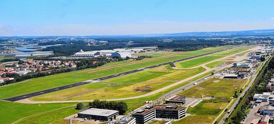 Friedrichshafen nach Kleinflugzeug-Bruchlandung gesperrt