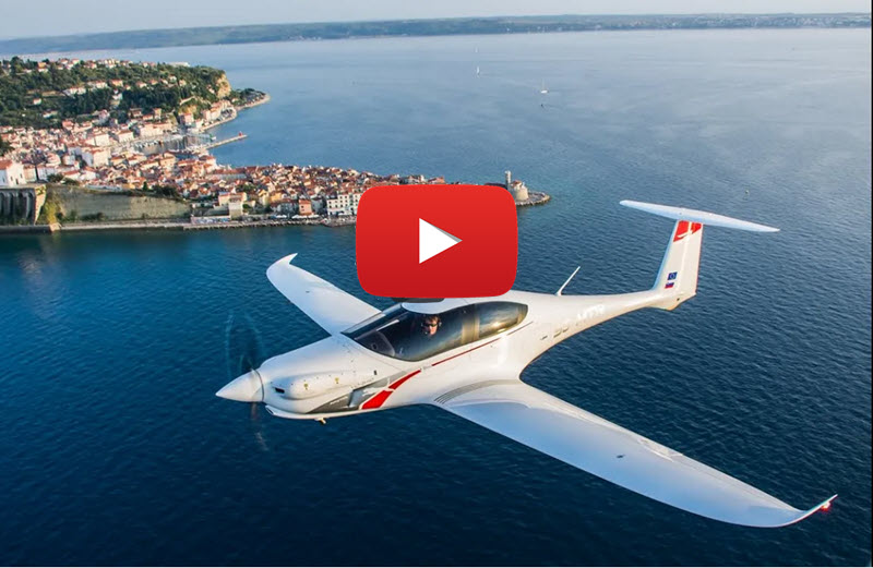 Promo video of the Pipistrel Panthera