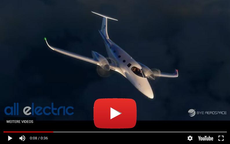 Elektro-Flugtaxi mit 600 km/h und 900 km Reichweite