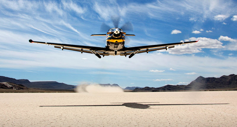 1800. Pilatus PC-12 ausgeliefert