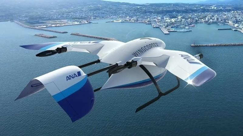 Wingcopter-Logistikdrohnen