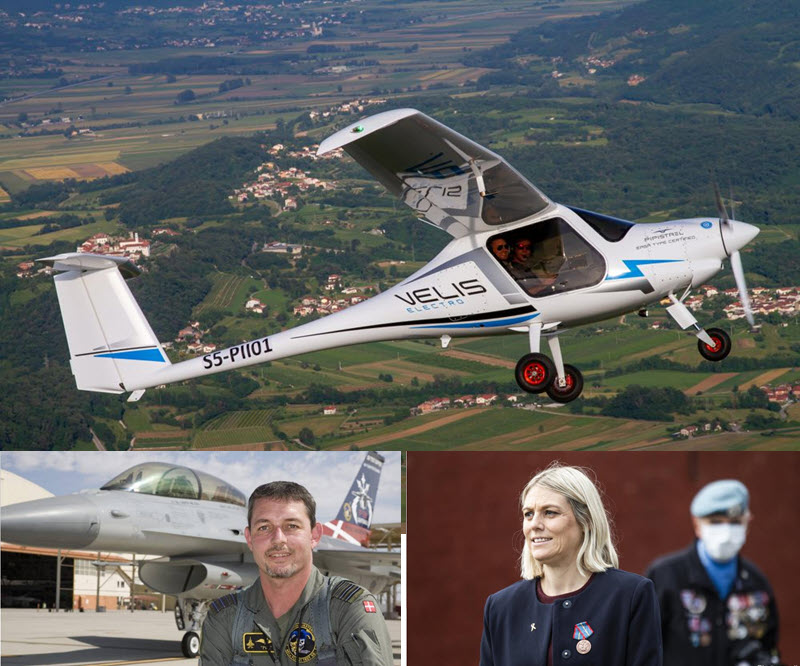 Danish Armed Forces will fly Velis Electro
