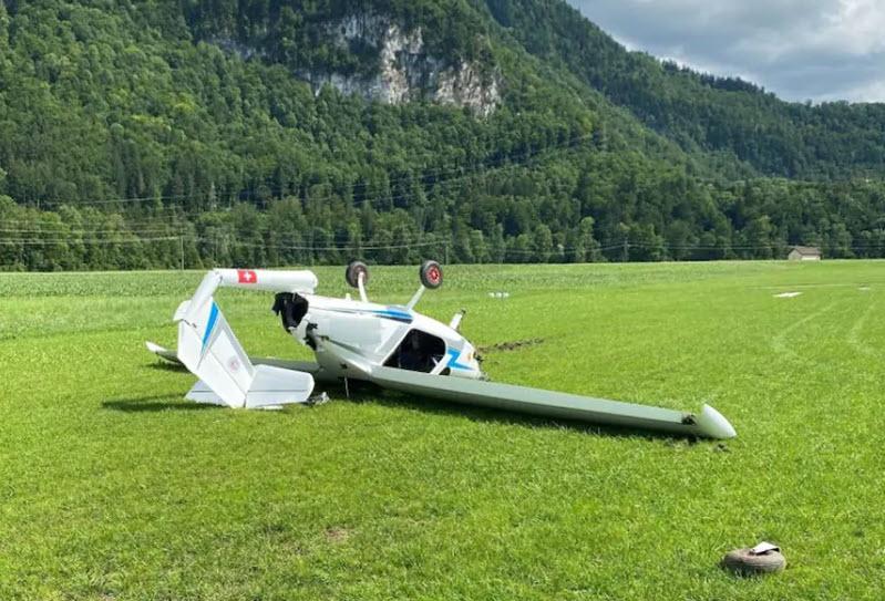 Flugzeugunfall in Epagny