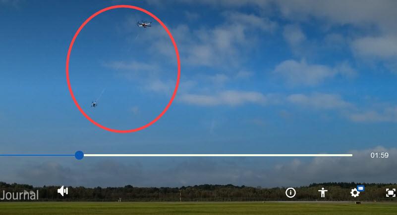 Abfangdrohnen gegen Drohnen