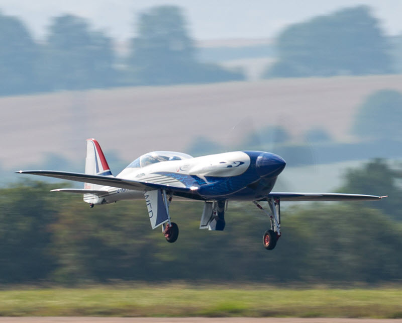'Spirit of Innovation' takes to the skies for the first time