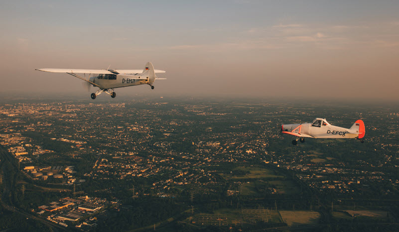 Aero-Club Mülheim schreibt Rekordzahlen