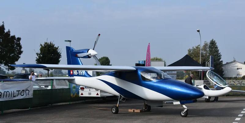 Stelldichein der Elektroflugzeuge