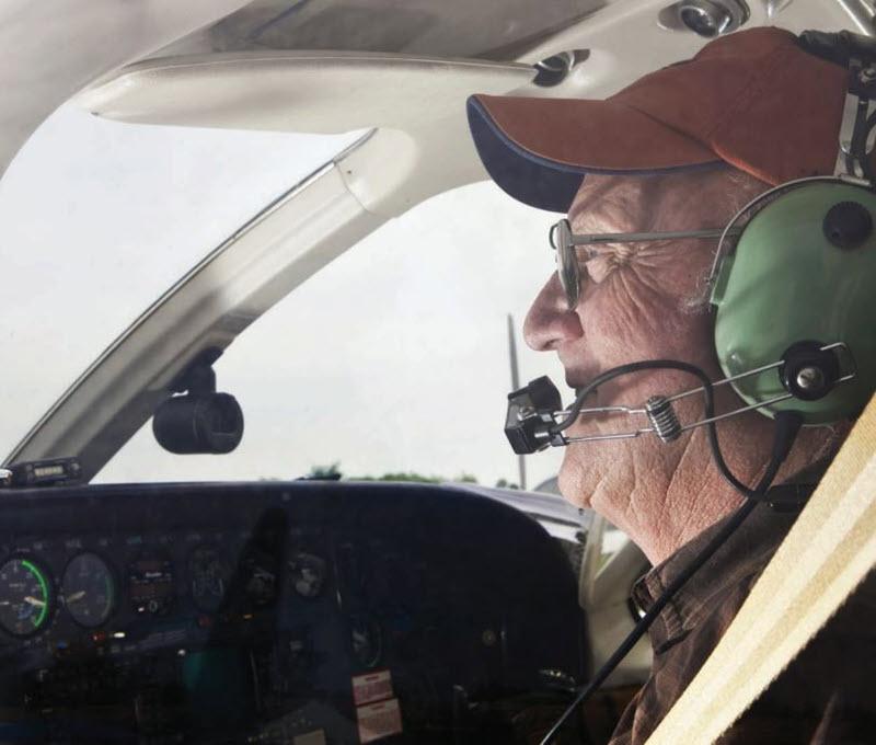 Älterwerden für Piloten